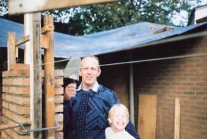 Bert Kusters met Boy 1990