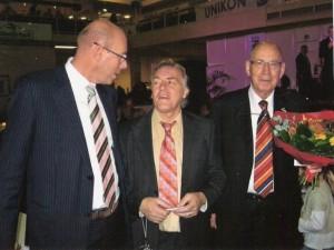 Samen met Evert Jan en Hans Eijerkanp.