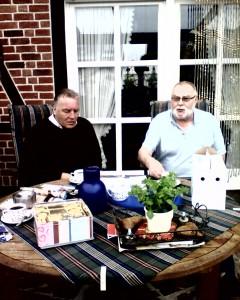 Op bezoek bij Werner Stellerman. 2010