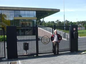 Paul op Papendal trainings complex voetbal club Vitesse