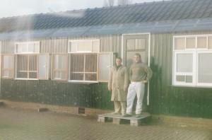 Samen bij  Anton Witjes. 1996 Hok Eijerkamp. en Zonen