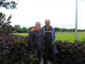Op bezoek bij vriend Pieter Veenstra.