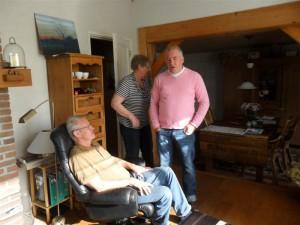 Op bezoek bij vrienden Jan en Hennie de Ruiter